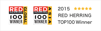 2015 RED HERRING TOP100 Winner